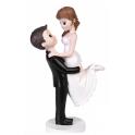 """Figurine mariés """"Mariée portée"""""""