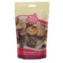 Funcakes - Chocolate chunks, milk chocolate, 350 g
