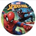 Dekora - Disque déco Spiderman, 20 cm