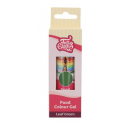 FunCakes - colorant gel concentré vert feuille, 30 g