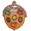 Decora - emporte-pièce automne mini, set de 6