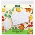 Katy Sue - Autumn leaves silicone mold & Veiner