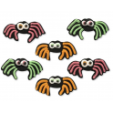 AH -  Icing Decorations spider, 6 pieces