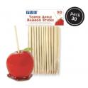 PME bâtons en bois 13 cm, 30 pièces