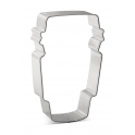 Cookie Cutter Latte Cup, approx. 10 cm