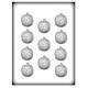 CK - Moule à bonbon/isomalt, courge/citrouille, 11 cavités