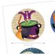 Dekora - Topper Cupcakes Halloween, 6 pièces