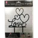 Topper Love black