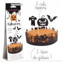 Scrapcooking - Tour de gâteau Halloween, 1+3 pièces