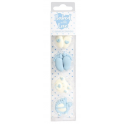Baked with Love Icing Decorations baby boy, 13 pieces