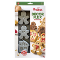 Decora - Silicone Gingerbread mold, 6 cavities
