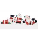 AH - Santa Claus decorations, 5 pieces