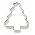 Christmas Tree with star cookie cutter, 8 cm