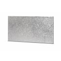 Kuchenplatte rechteckig silber, 25 x 12 cm