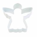 Ausstechform weiss Engel, 7.6 cm
