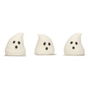 Funcakes - Décorations en sucre fantômes 3D, 3 pièces