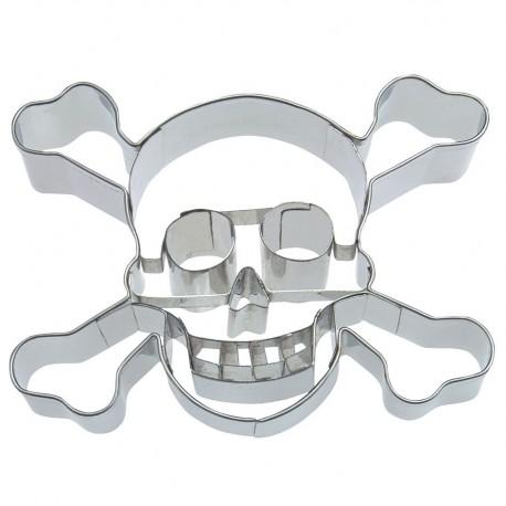 Emporte-pièce - crâne avec les dents, 9 cm