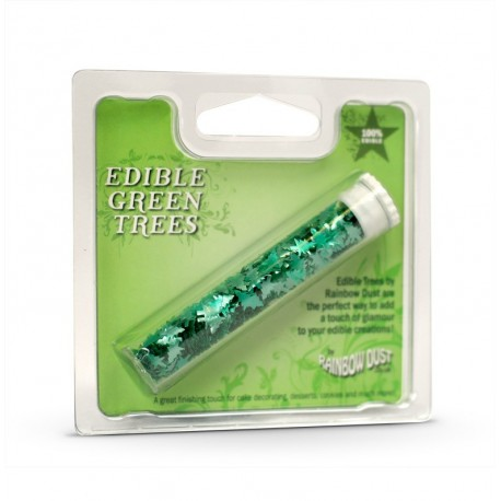 Edible Metal Trees Green