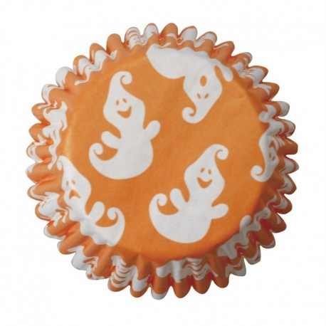 Ghost baking cups. 54 pieces