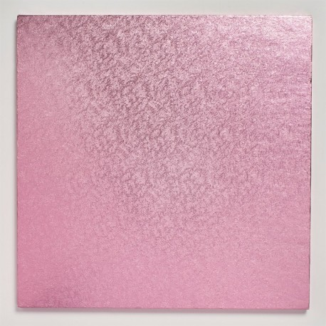 Square Cake Board Light pink  cm 30 x 30, 12 mm thick