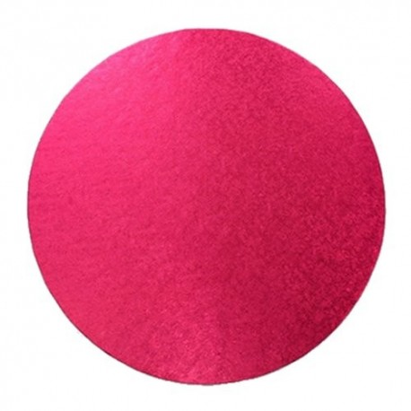 Cake Board Fuchsia  cm 30 diameter, 10 mm thick