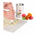Decora - Tapis en silicone à macarons, 48 cavités