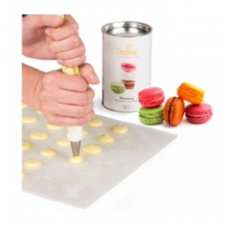 Macaron Silicone Mat 48 cavities