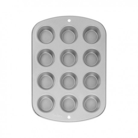 Wilton - Pan Non-stick 12 cup muffin pan