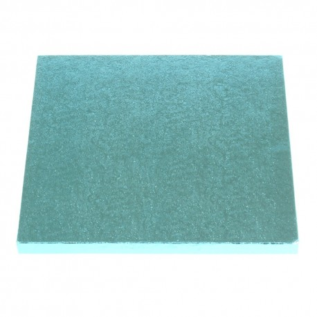 Square Cake Board baby blue, cm 30 x 30, 12 mm thick