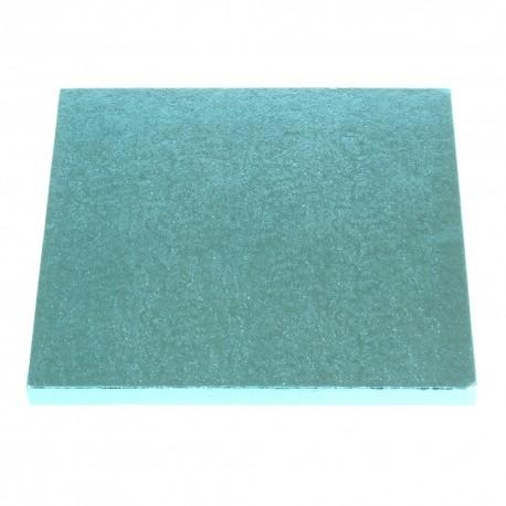 Planche bleu clair carré, 30 x 30 cm, épaisseur 1.2 cm