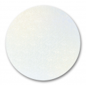 Planche blanc ronde, diamètre 16 cm, épaisseur 3 mm