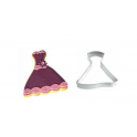 Cookie Cutter Party Dress  cm 10 x 9x 2.5
