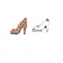 Emporte-pièce - chaussure à talon, 14 x 8 cm environ