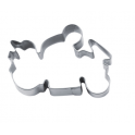Motorbike cookie cutter, 6 cm