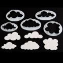 FMM - Emporte-pièce nuages duveteux, set de 5