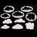 FMM Fluffy Cloud Cutters, set of 5