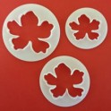 FMM Hawaiian Flower Cutters, set of 3