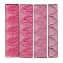 FMM Textured Lace no 1, set of 4