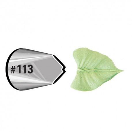 Decorating tip 113/112 (leaf)