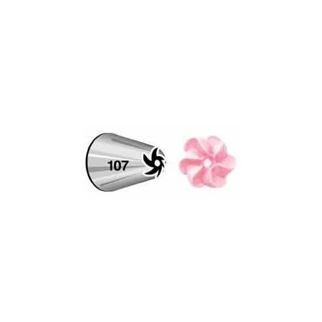 Decorating tip 107 (flower)
