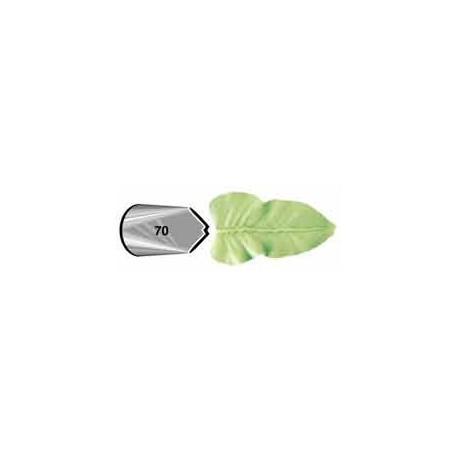 Decorating tip 070 (leaf)