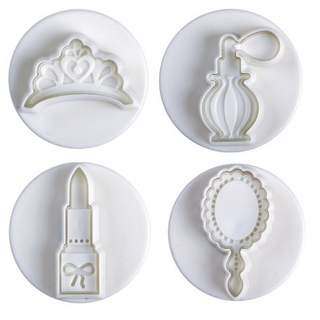 Cutter plunger beauty accessories, 4 pieces