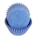 Caissettes mini cupcakes bleu clair, 50 pièces