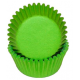 Mini Cupcake Cups lime green, 50 pieces