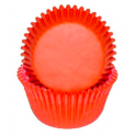 Orange mini Cupcake Cups, 50 pieces