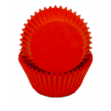 Red mini Cupcake Cups, 50 pieces