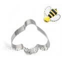 Cookie Cutter bee, 6x6 cm