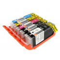 Edible ink cartridge IP7250, set of 5