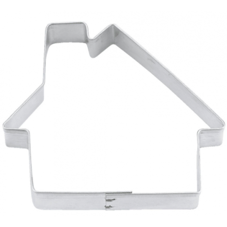 Cookie Cutter house, tin plate, 7 cm