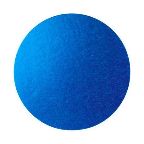 Cake Board blue, cm 30 diameter, 10 mm thick